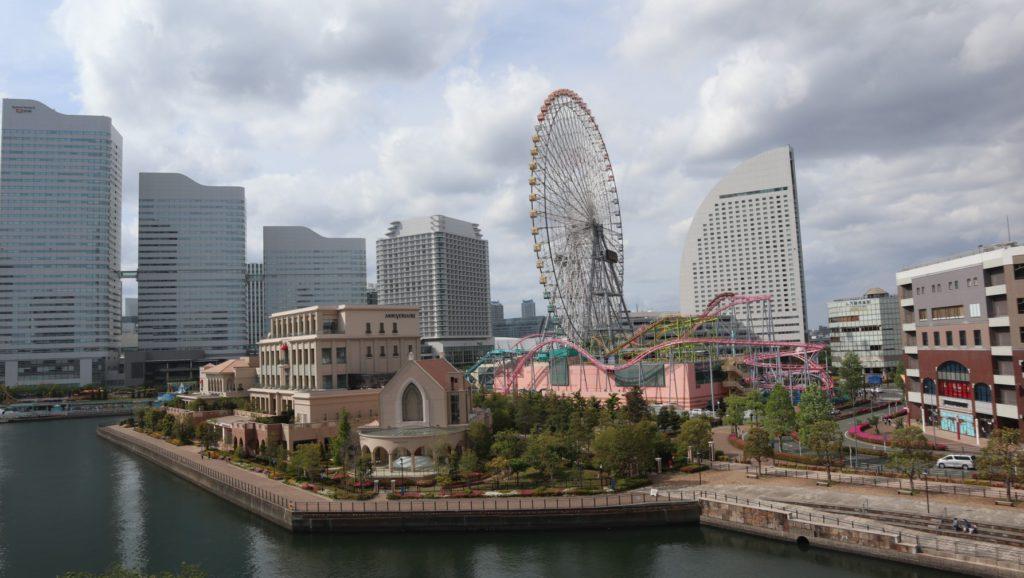よこはまコスモワールドと横浜グランドインターコンチネンタルホテル